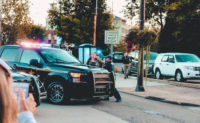 Polizei fasst den Täter