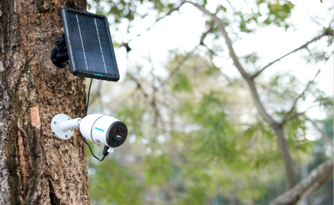 4G Off-Grid Security Cameras With Solar Panel