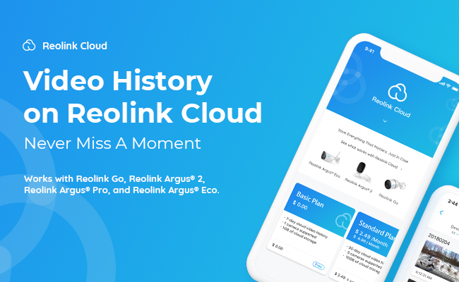 Reolink Cloud Service