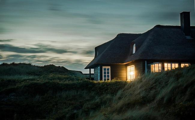 Licht schützt Haus