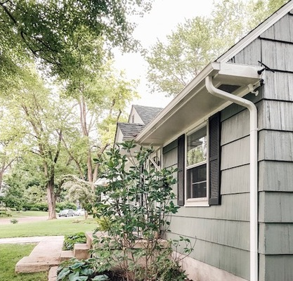 Hide Security Camera Under the Eave