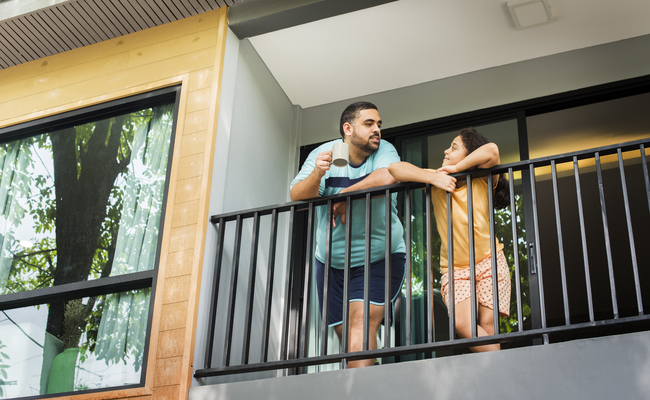 Secure Balcony Railings
