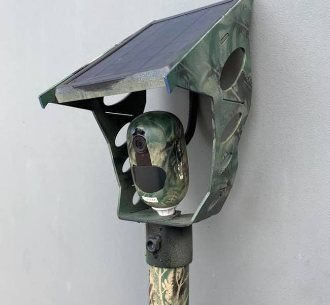 Paint Security Camera