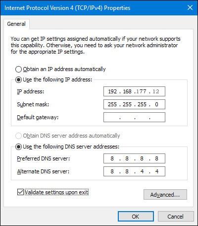 Bilgisayar IP Adresini Değiştir
