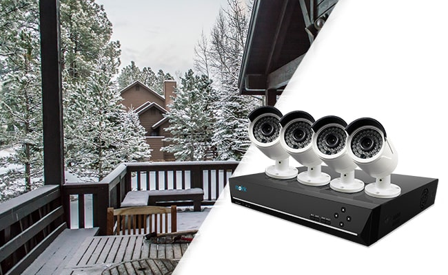 Cold Weather Outdoor PoE Security Camera