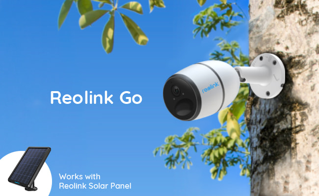 Cellular Solar Powered Security Cameras