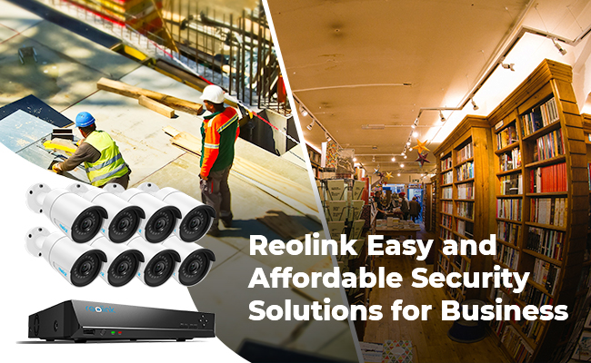 Reolink Security Camera Systems for Business